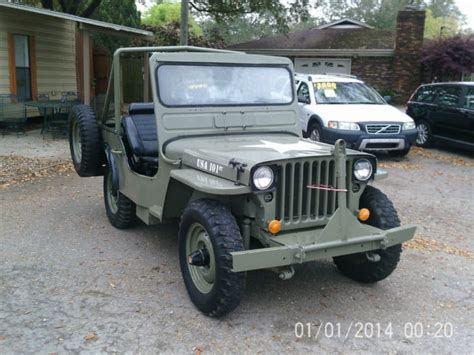 ford military jeep 1945 ford army jeep military style great shape very