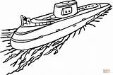Submarine Coloring Pages Boot Navy Ship Ausmalbilder Ausmalbild Zum Kostenlos Water Transport Print Boat Printable Boats Anchor Sheets Cruise Drawing sketch template