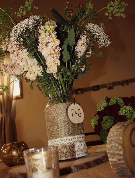 country centerpieces rustic style engagement party rustic wedding chic