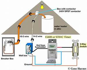 Wiring Diagram For 240v Hot Water Heater