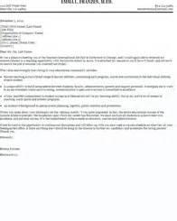 job fair cover letter sles