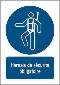 Harnais De Securite Pour Elagage : panneaux iso 7010 message vertical harnais de s curit ~ Edinachiropracticcenter.com Idées de Décoration