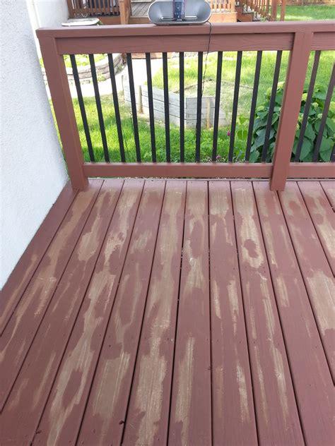 Behr Deck Prep by Behr Deckover Or Rustoleum Restore Small Change In My Deck