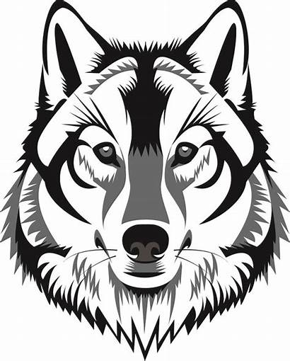 Wolf Face Clipart Clipground
