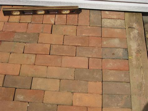 running brick pattern brick patios long island ny pavers cement concrete masonry walks