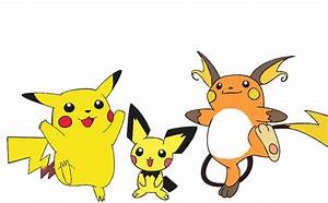 Pikachu Pokemon Evolution