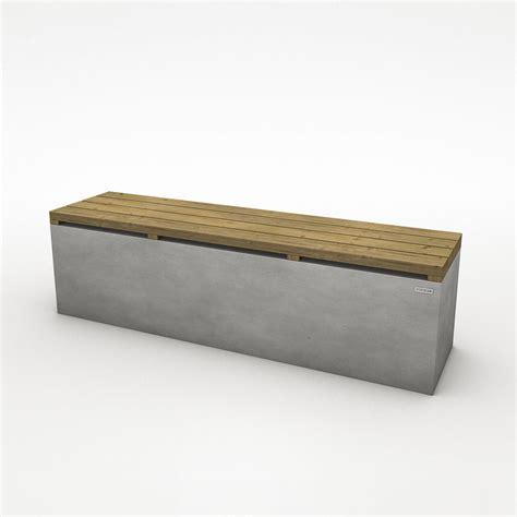 betonbank mit holzauflage moderne gartenbank parkbank aus echtem beton mit lattenrost aus vollholz co33 betonm 246 bel
