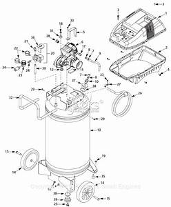 Campbell Hausfeld Wl611107 Parts Diagram For Air