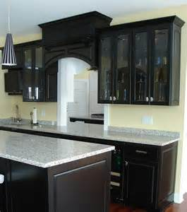 black cupboards kitchen ideas 23 beautiful kitchen designs with black cabinets page 3 of 5