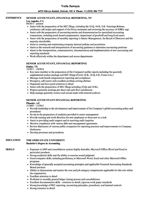 financial reporting accountant cover letter financial reporting resume watchesline co