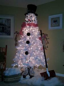 DIY Christmas Tree Snowman Home Design, Garden