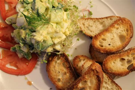 simply scrumptious cucumber  dill egg salad