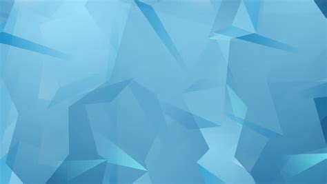 blue tech geometric polygonal motion stock footage video