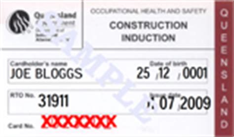 white card training qld construction induction courses