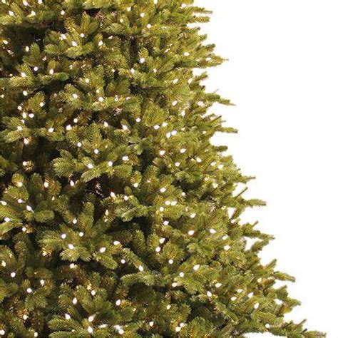 ge freeh cut norweigian artificial tree 9 ft just cut spruce ez light artificial tree with 1000 color choice led