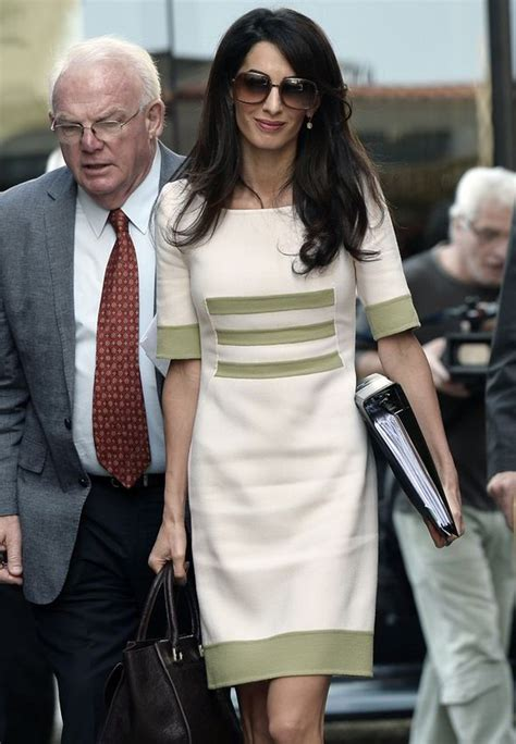 amal clooney court outfit celebrity express down
