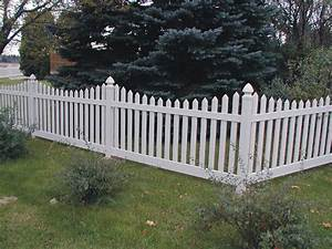 White Fences Pictures of Fences