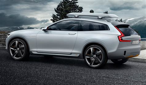 volvo xc coupe concept suv revealed wheelsfire