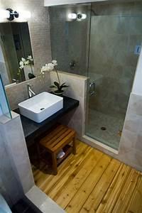 Salle De Bain Cosy : petite salle de bain 34 photos id es inspirations ~ Dailycaller-alerts.com Idées de Décoration
