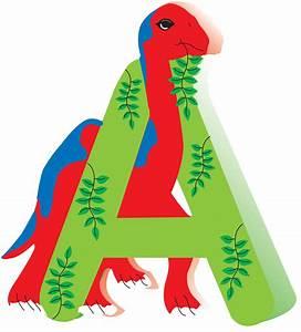 dinosaur wooden alphabet letters for children names on With dinosaur wooden letters