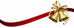 Christmas Ribbon and Bells transparent PNG - StickPNG