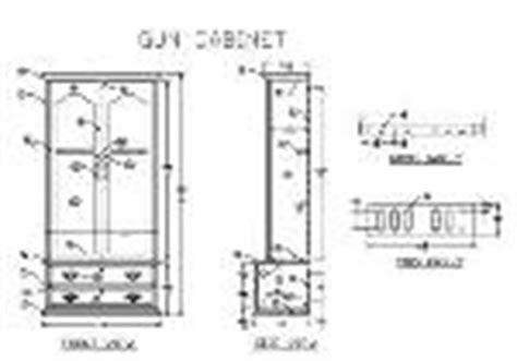 free gun cabinet plans downloads woodwork wooden gun cabinets plans for free pdf plans