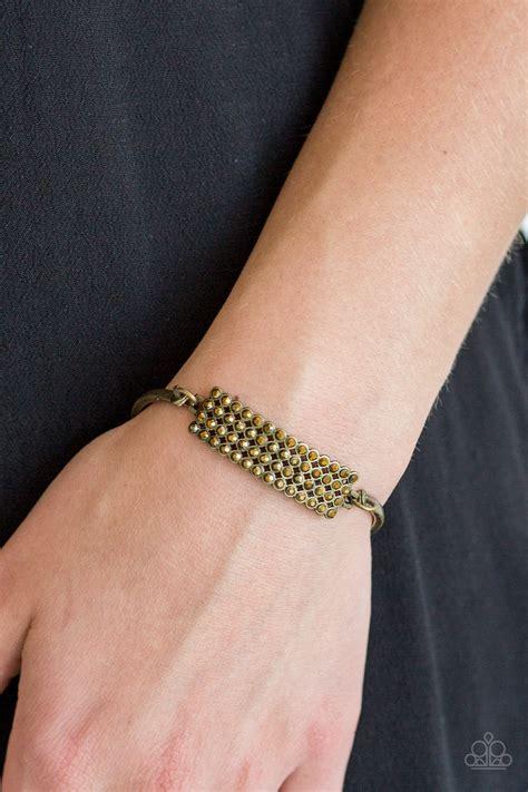 Top- Class Class Brass Bracelet- Paparazzi Accessories ...