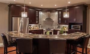 Islands kitchen designs, angled kitchen island design