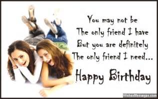 birthday wishes for best friend quotes and messages wishesmessages