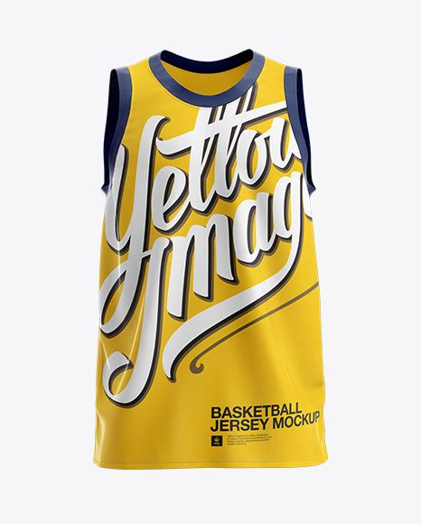 So i made this mockup and use it myself. Basketball Jersey Mockup - Masa Design