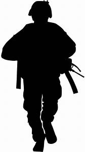 Military Silhouette | Free vector silhouettes