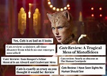 Critics Hate 'Cats': Here Are The Most Vicious Movie ...