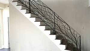 Wrought Iron Stair Railing Design New Home Design
