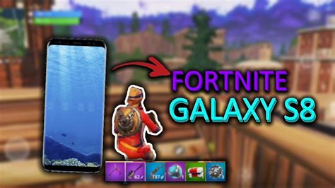 fortnite android beta gameplay samsung  youtube