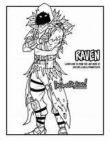 Fortnite Raven Draw Drawing Royale Battle Tutorial Coloring Pages Sheets Colouring Fornite Fort Night Colorear Para Printable Books Colorful Dibujos sketch template