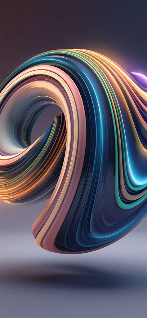 3d Wallpapers Iphone X by Bb01 Digital Color Circle Illustration 3d Wallpaper