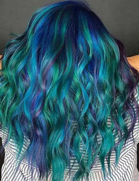 mermaid color hair best 25 mermaid hair colors ideas on unicorn