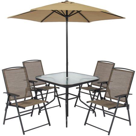 Outside Table And Chairs by Best Choice Products 6 Outdoor Folding Patio Dining