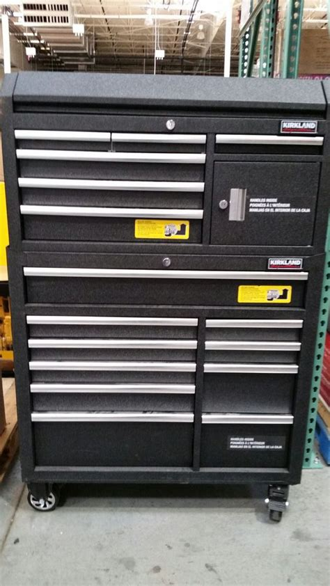 kirkland signature  rolling tool box toolbox tools
