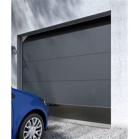 porte de garage sectionnelle londres grise castorama porte garage garage