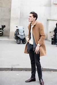 On The Street Camel Coats Paris Florence The