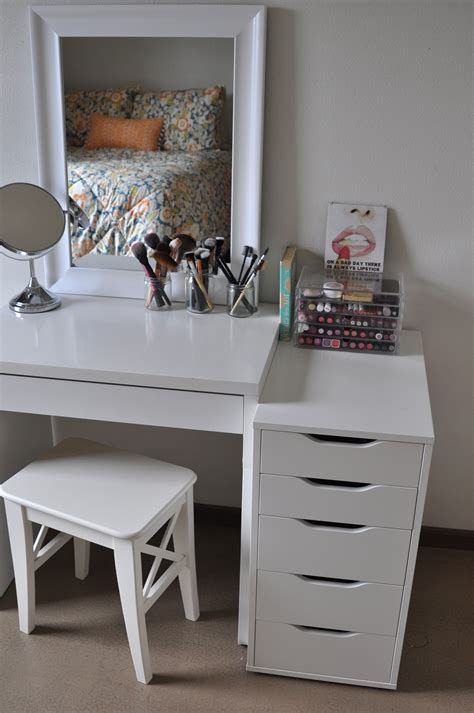 bedroom interesting ikea makeup organizer