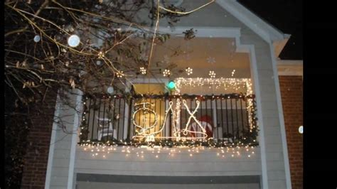christmas balcony decorating ideas balcony decorating contest 2009 jacob wood youtube