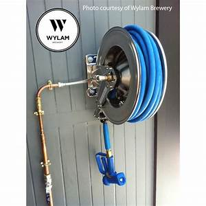 Brewery Pressure Wash Reel With 15 Metres Of 12mm Hose
