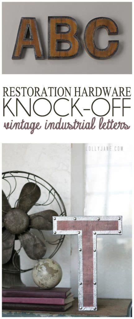 vintage industrial letter vintage industrial letters 77522