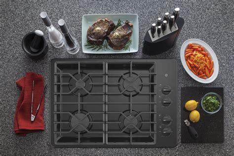 ge jgpdlbb   gas cooktop black
