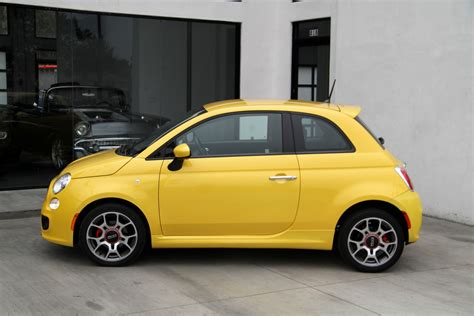 Used Fiat 500 Sport by 2015 Fiat 500 Sport Stock 6243a For Sale Near Redondo