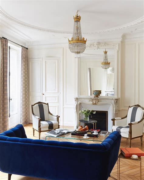 parisian living rooms    swoon