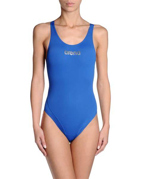 lyst arena performance cut  swimsuit  blue