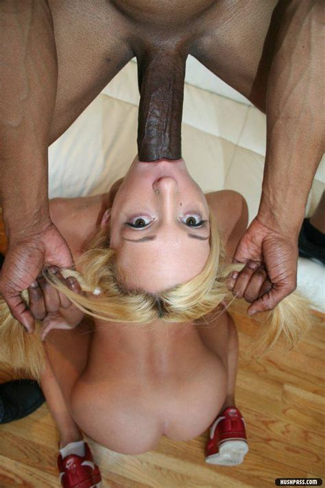 Huge Cock Down Her Throat